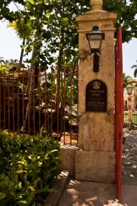 Entrance to Venetian Pool